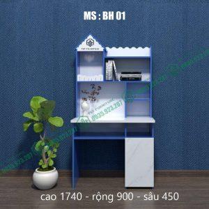 Bàn học sinh nhựa Đài Loan tại Đà Nẵng (Mã BH01 A44)