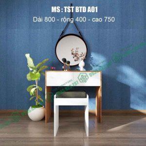 Bàn trang điểm nhựa Đài Loan TSTBTDA01