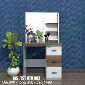 Bàn trang điểm nhựa Đài Loan  TSTBTDA02