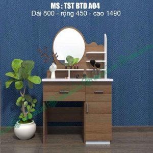 Bàn trang điểm nhựa Đài Loan TSTBTDA04