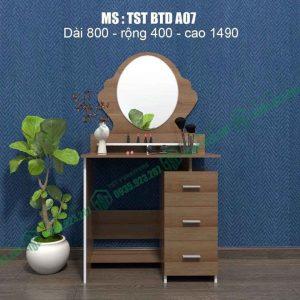 Bàn trang điểm nhựa Đài Loan TSTBTDA07