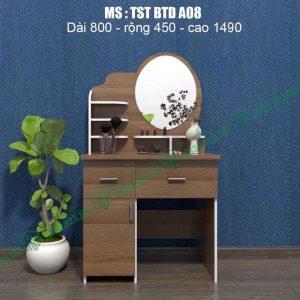 Bàn trang điểm nhựa Đài Loan TSTBTDA08