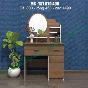 Bàn trang điểm nhựa Đài Loan TSTBTDA09