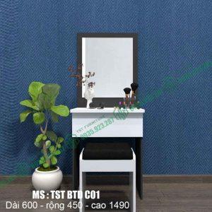 Bàn trang điểm nhựa Đài Loan TSTBTDC01