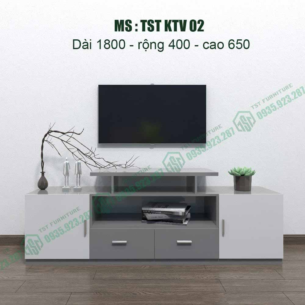 Kệ TiVi nhựa Đài Loan TSTKTV02