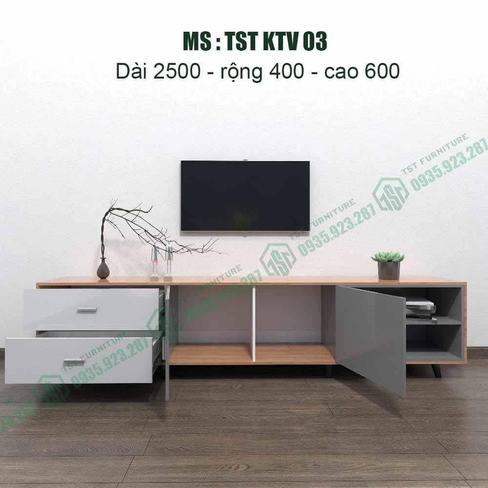 Kệ TiVi Nhựa Đà Loan TSTKTV03
