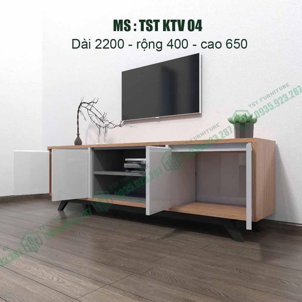 Kệ TiVi nhựa Đài Loan TSTKTV04