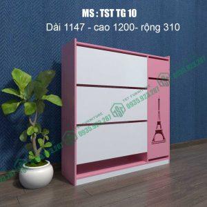 Tủ giày nhựa Đài Loan TSTTG10