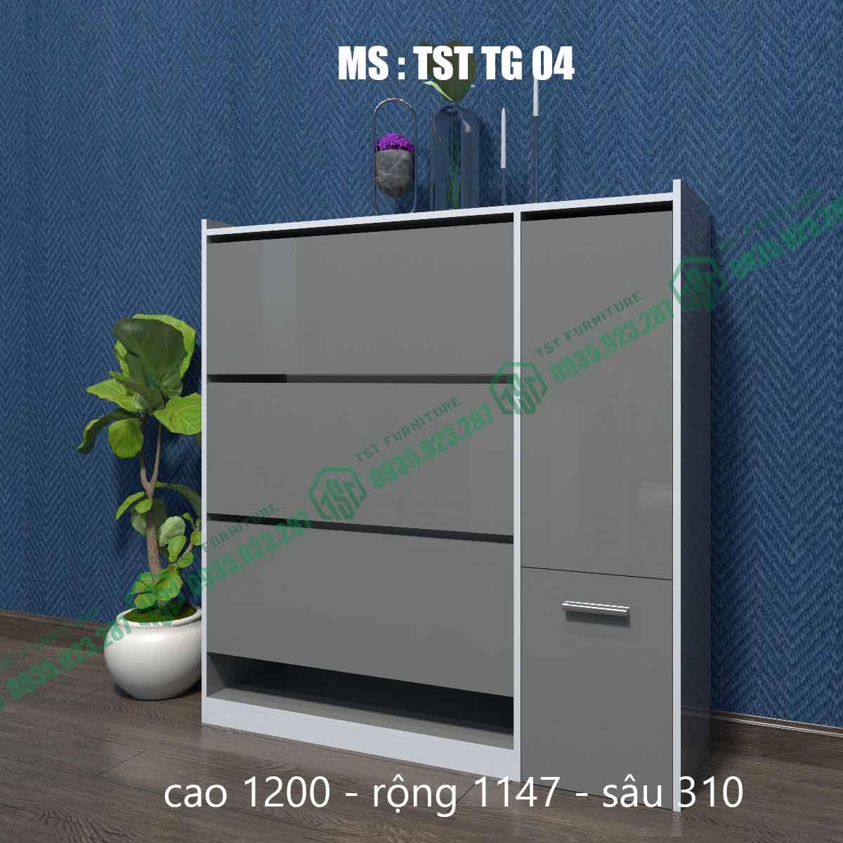 Tủ giày thông minh TSTTG04-1