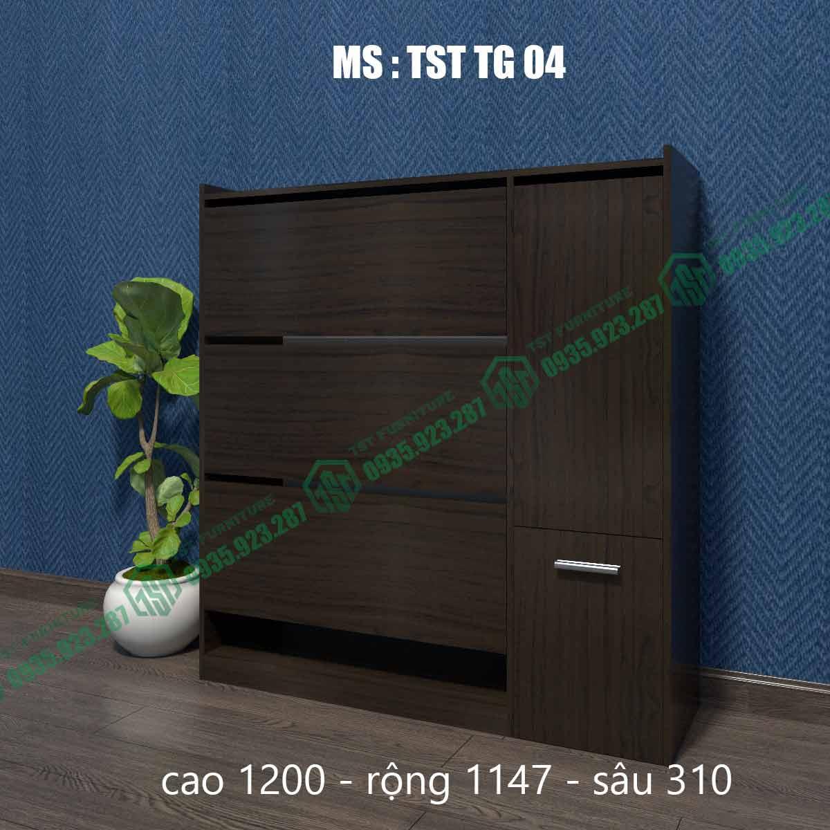 Tủ giày thông minh TSTTG04-4