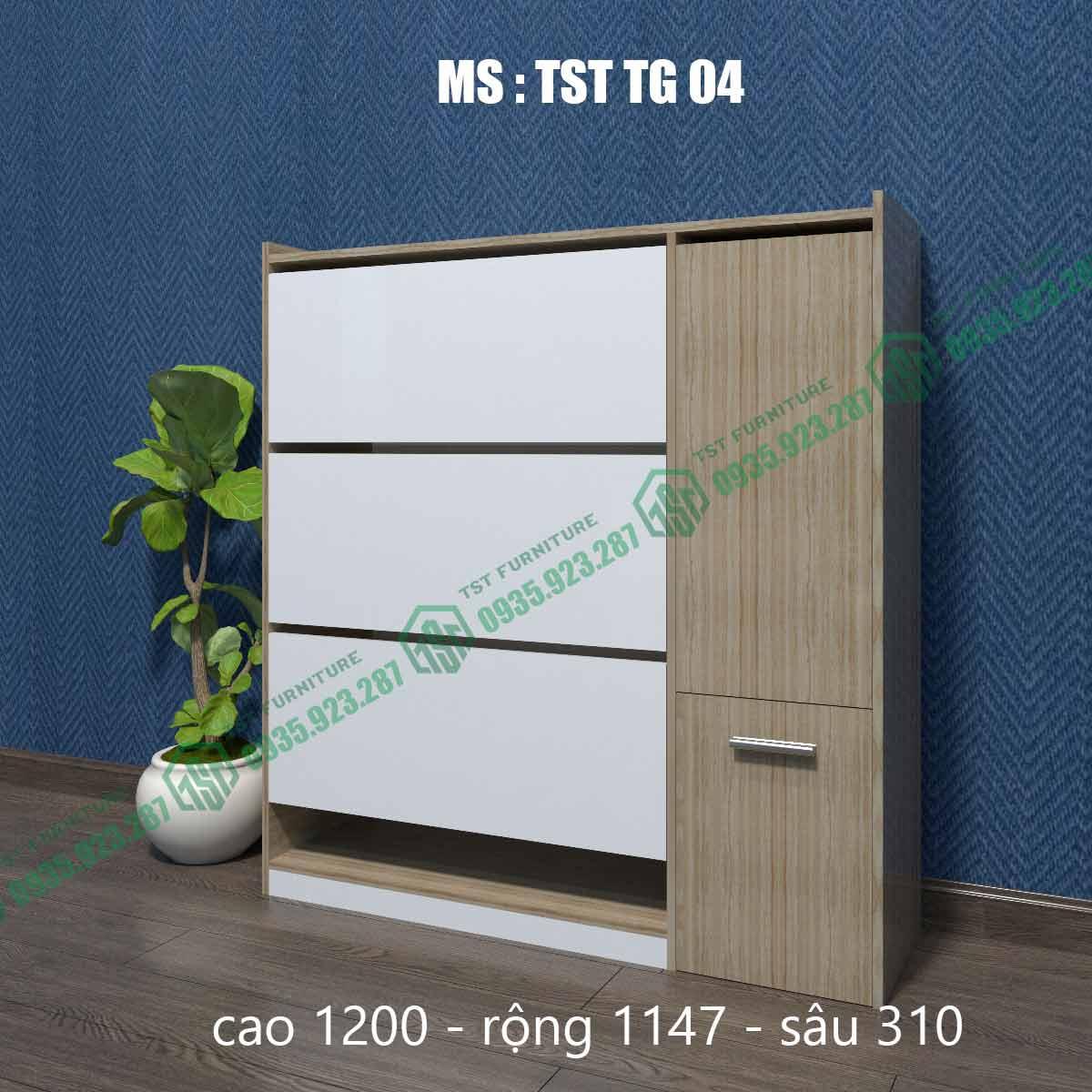 Tủ giày thông minh TSTTG04-6