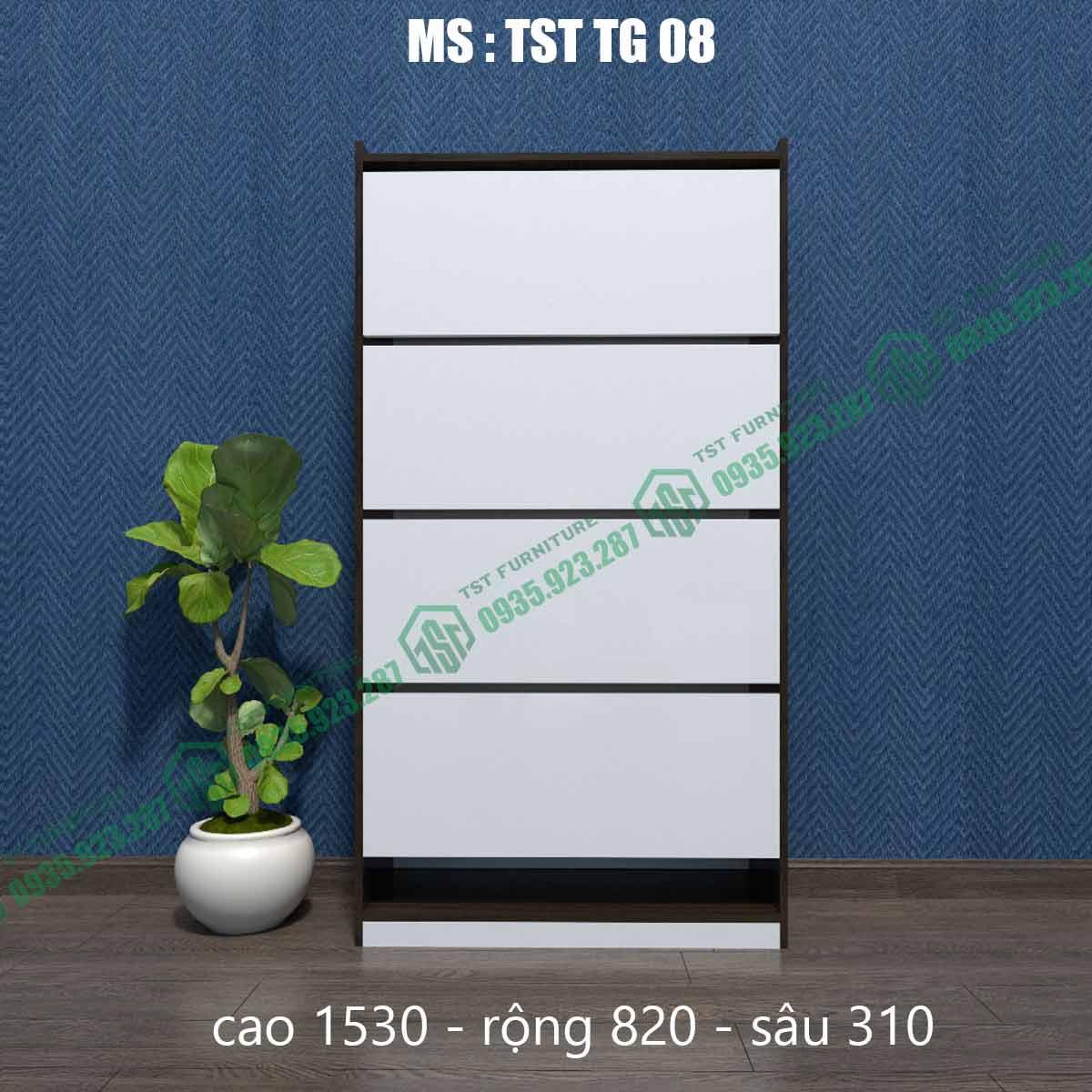 Tủ giày thông minh TSTTG08-3