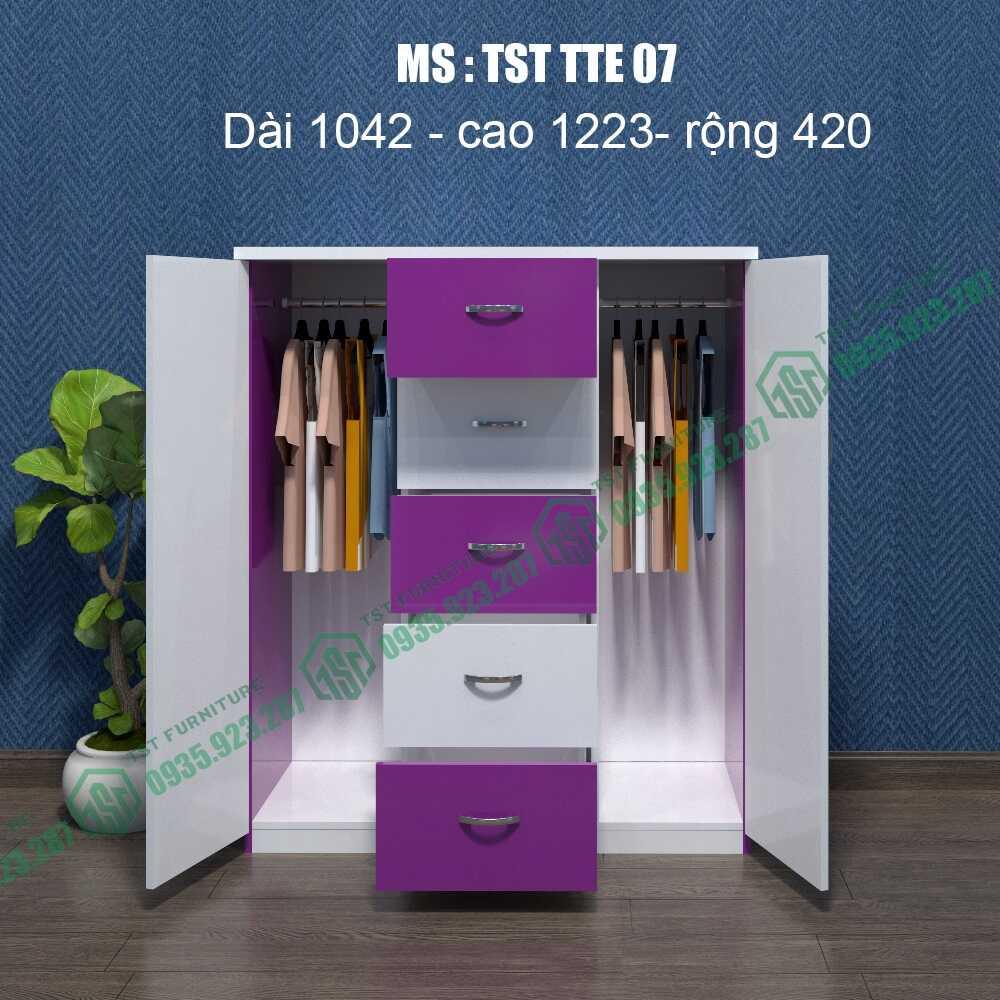 Tủ quần áo Trẻ em TST TTE07-15
