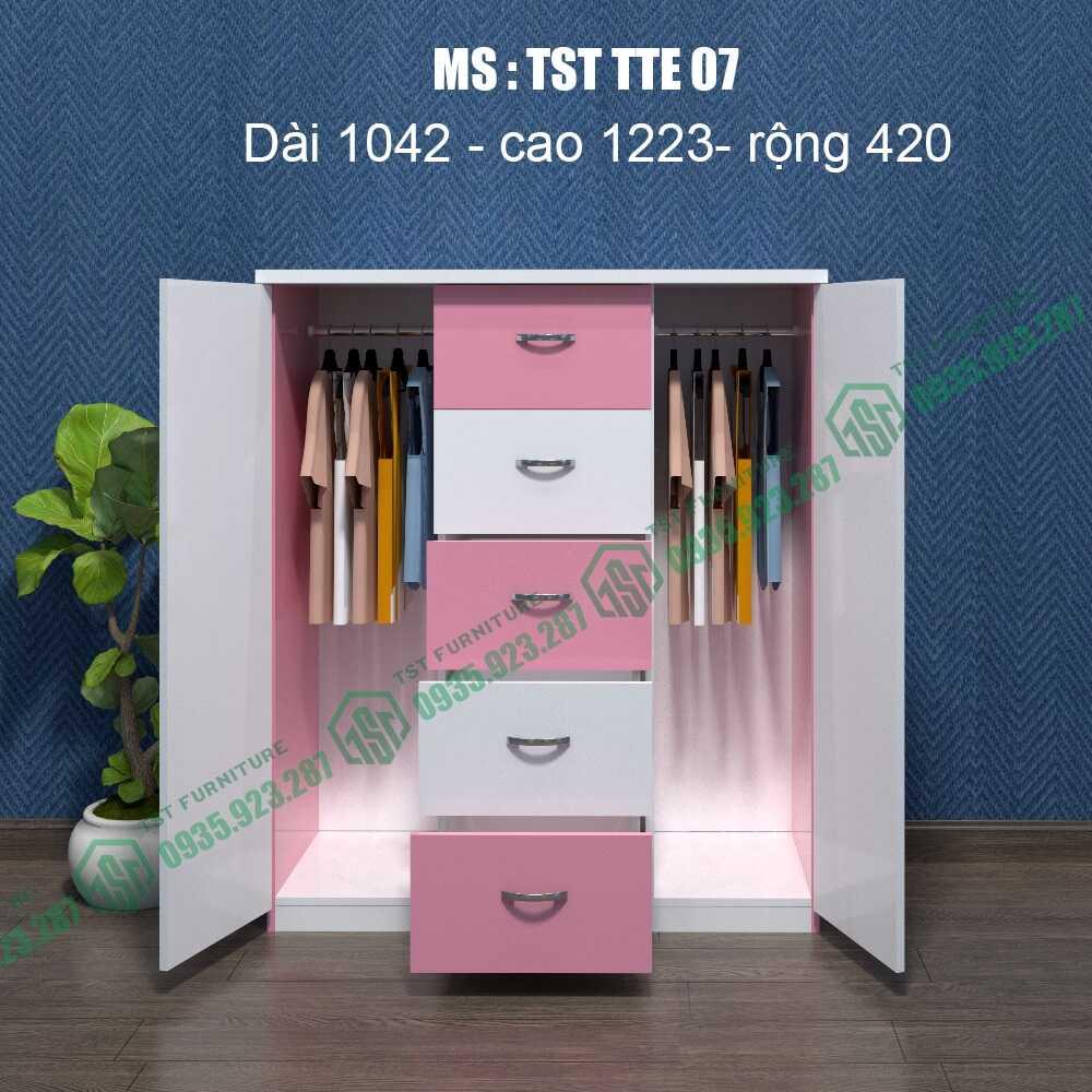 Tủ quần áo Trẻ em TST TTE07-16