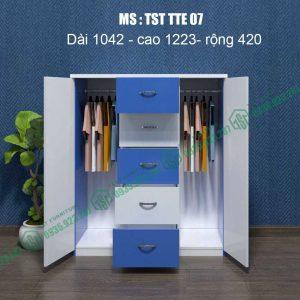 Tủ quần áo Trẻ em TST TTE07