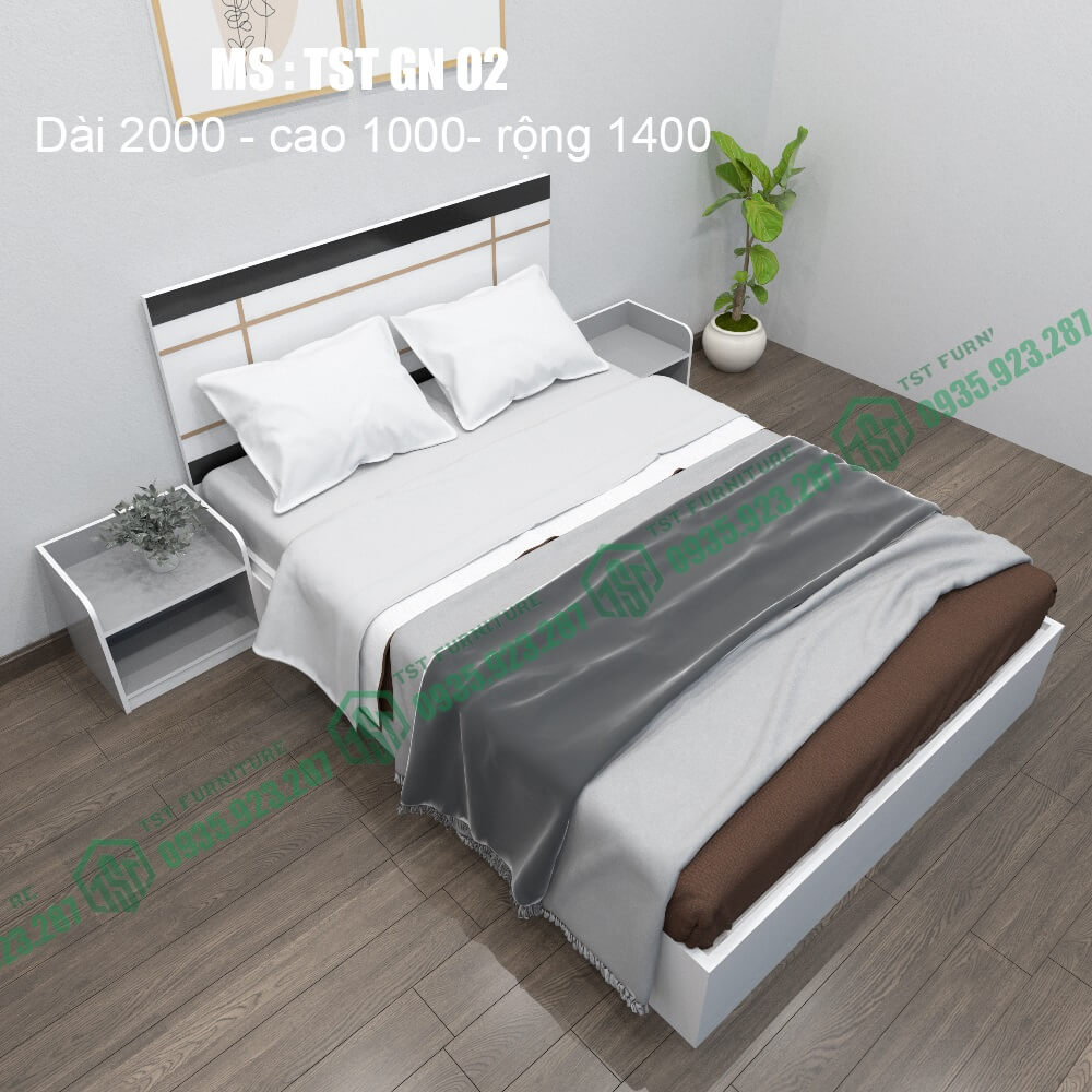 giường nhựa đài loan TSTGN02-3