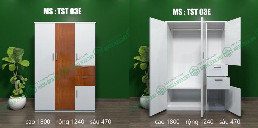 Mẫu tủ TST 03E Tại Đà Nẵng