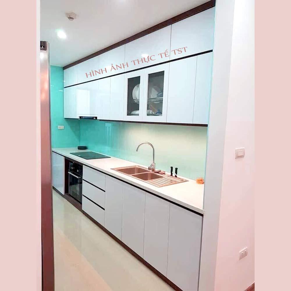 Mẫu tủ bếp cao cấp chữ I Đà Nẵng