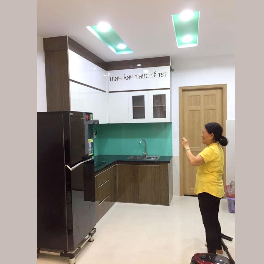 Tủ bếp nhựa Đài Loan tại Đà Nẵng [MẪU SỐ 1]