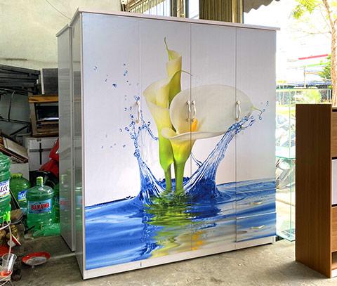 Tủ nhựa Đài Loan 4 cánh người lớn tại Đà Nẵng