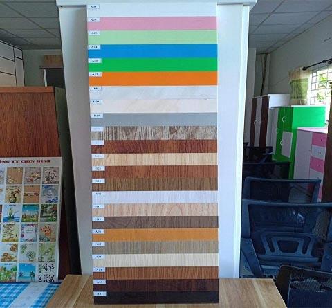 bảng màu tấm nhựa Đài Loan làm tủ quần áo