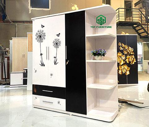 Giá đựng tủ quần áo nhựa Đài Loan Tại đà nẵng