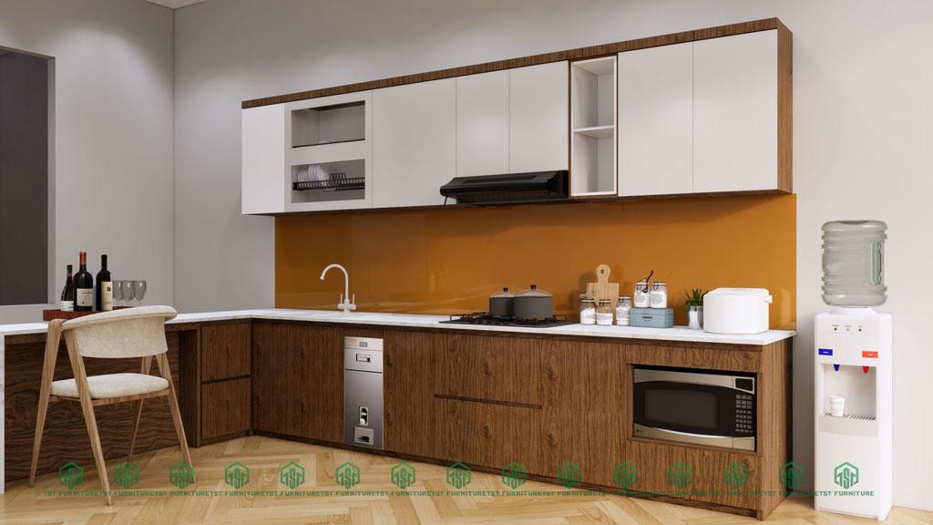 thiết kế 3d tủ bếp theo yêu cầu miễn phí tại đà nẵng